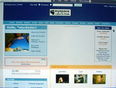 myspacestarduster